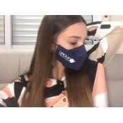 Máscara 3D de Tecido Uniforme