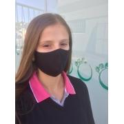 Máscara Canoa de Tecido Uniforme