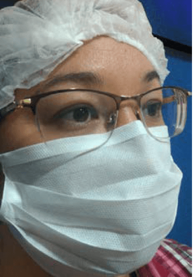 Caixa C/ 50 Máscaras Descartável Tripla Camada De Proteção