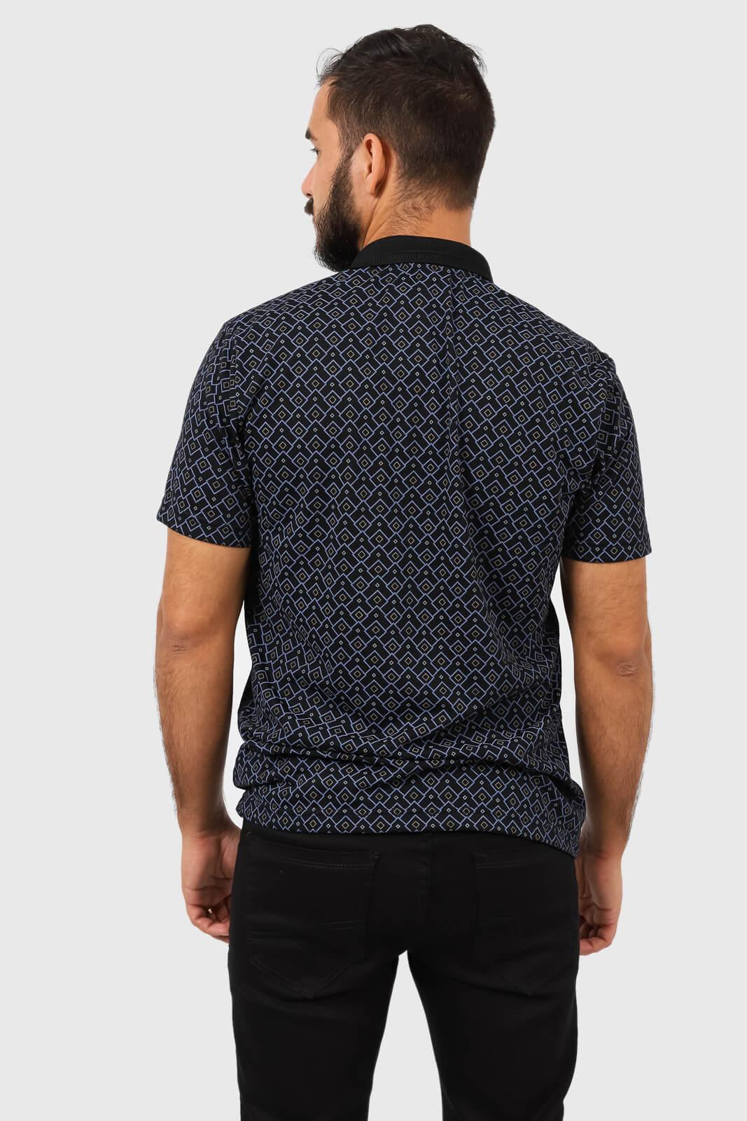Camisa Gola Polo Estampada