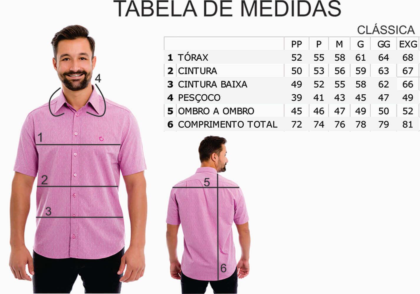 Camisa Social Masculina Olimpo Maquinetada Manga Curta