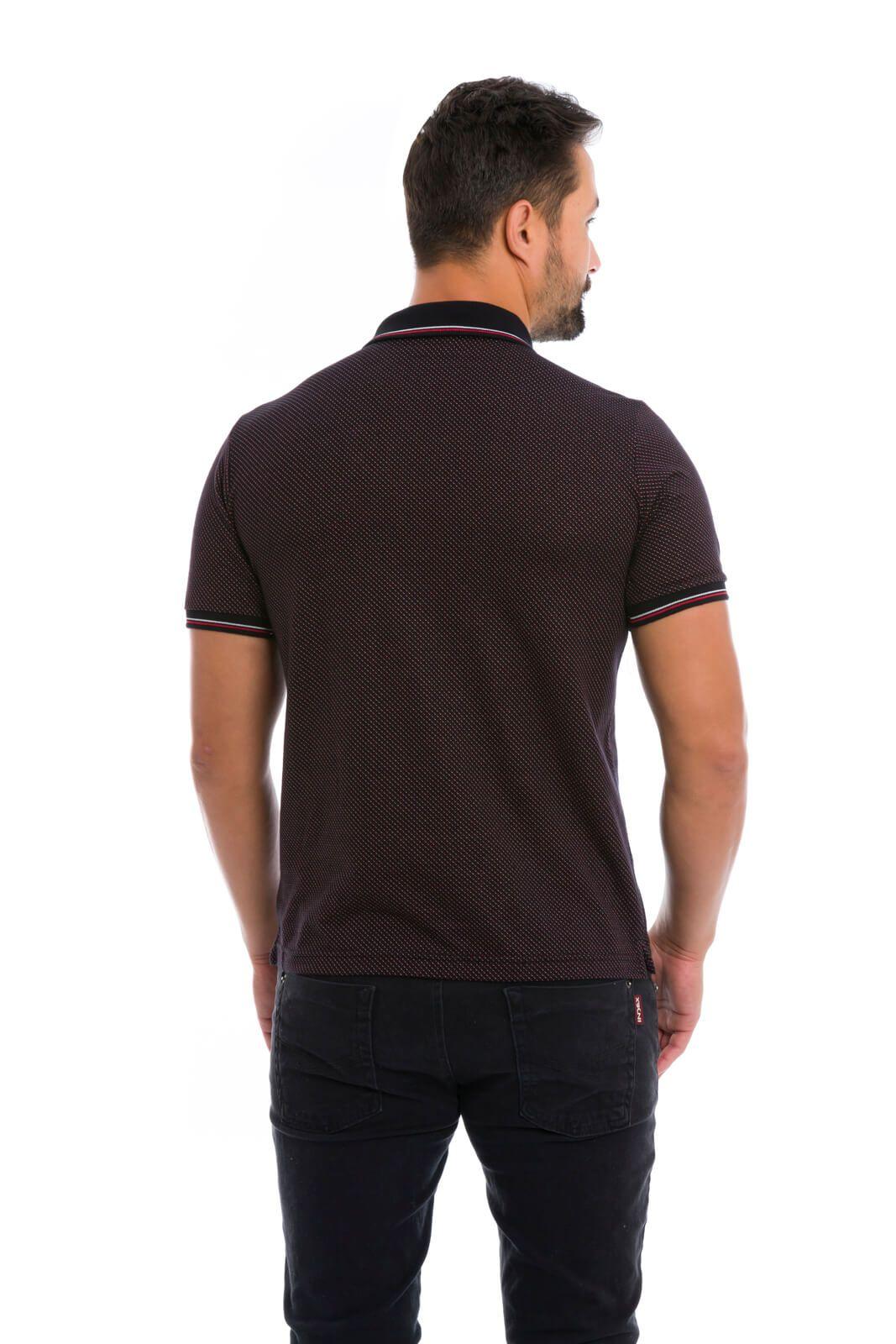 Camisa Gola Polo Olimpo Malha Jaqguard