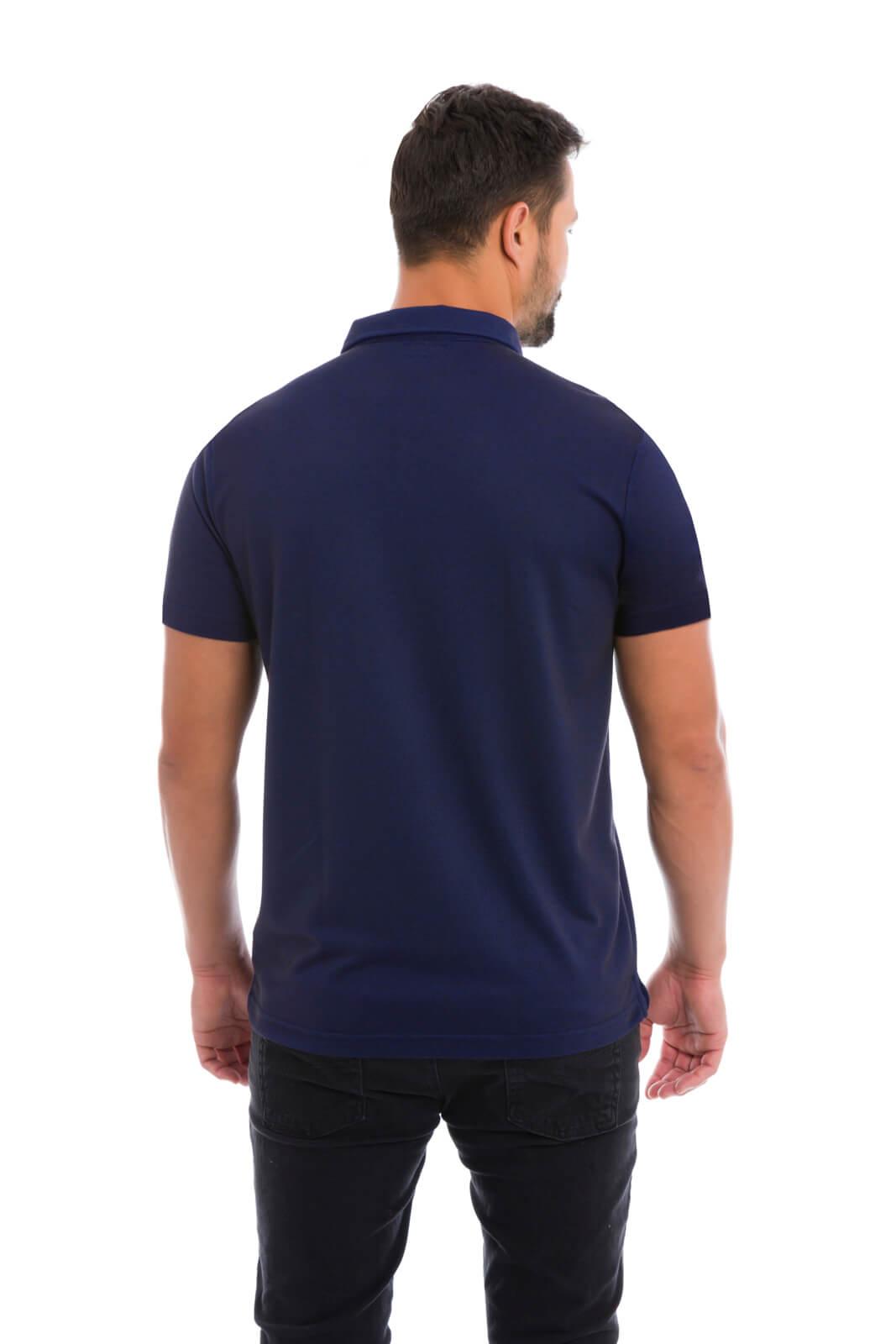 Camisa Gola Polo Olimpo Meia Malha com Bolso