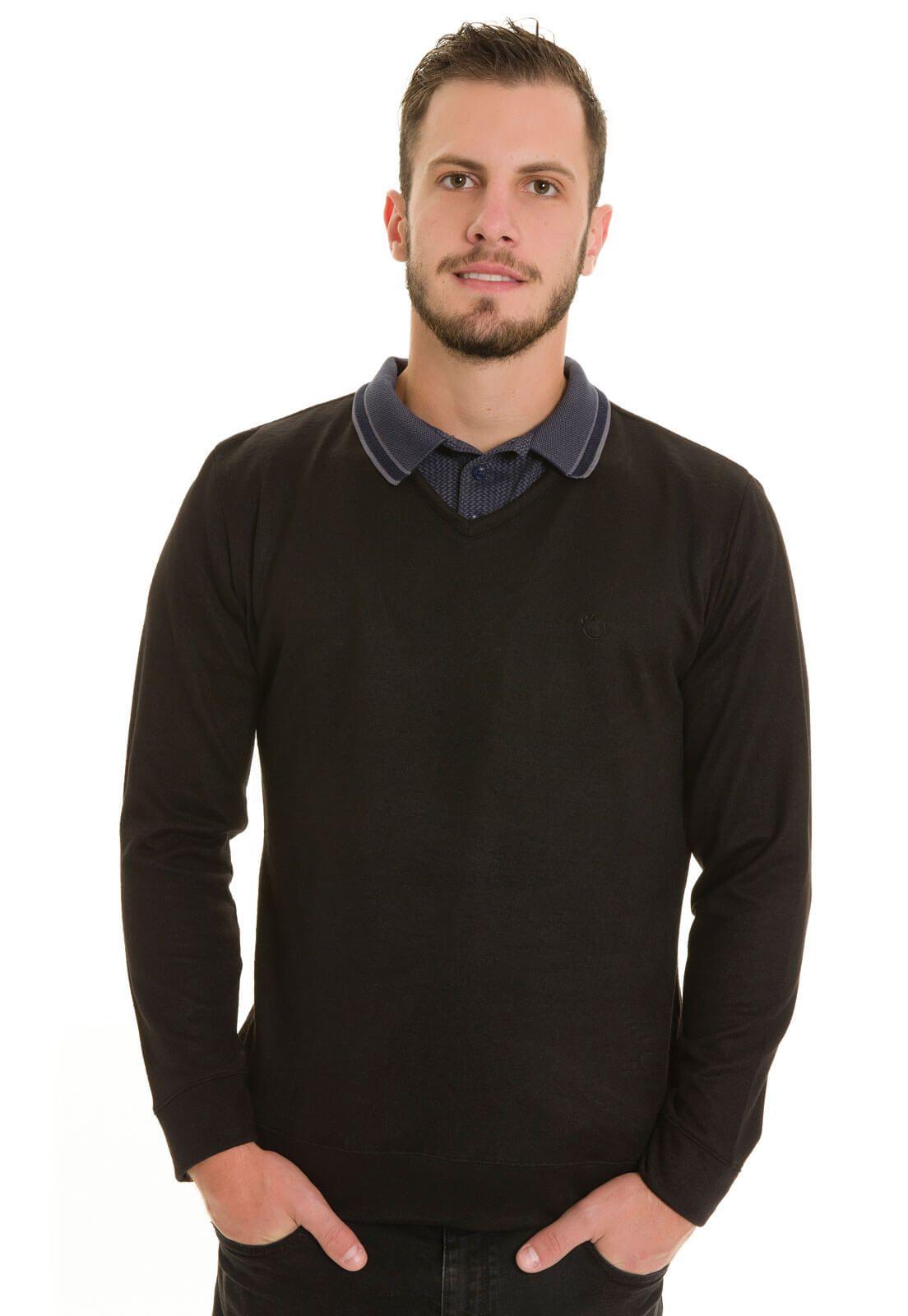 Suéter Olimpo Decote V