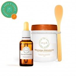 Manteiga Hidratante + Óleo Rejuvenescedor (Óleo de Cacay)