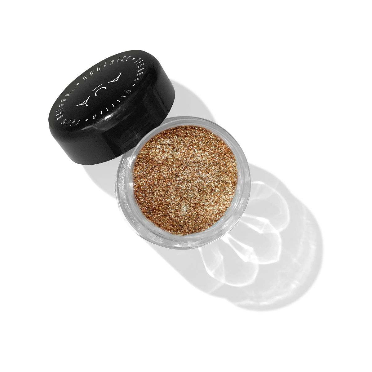 Glitter Biodegradável Bronze