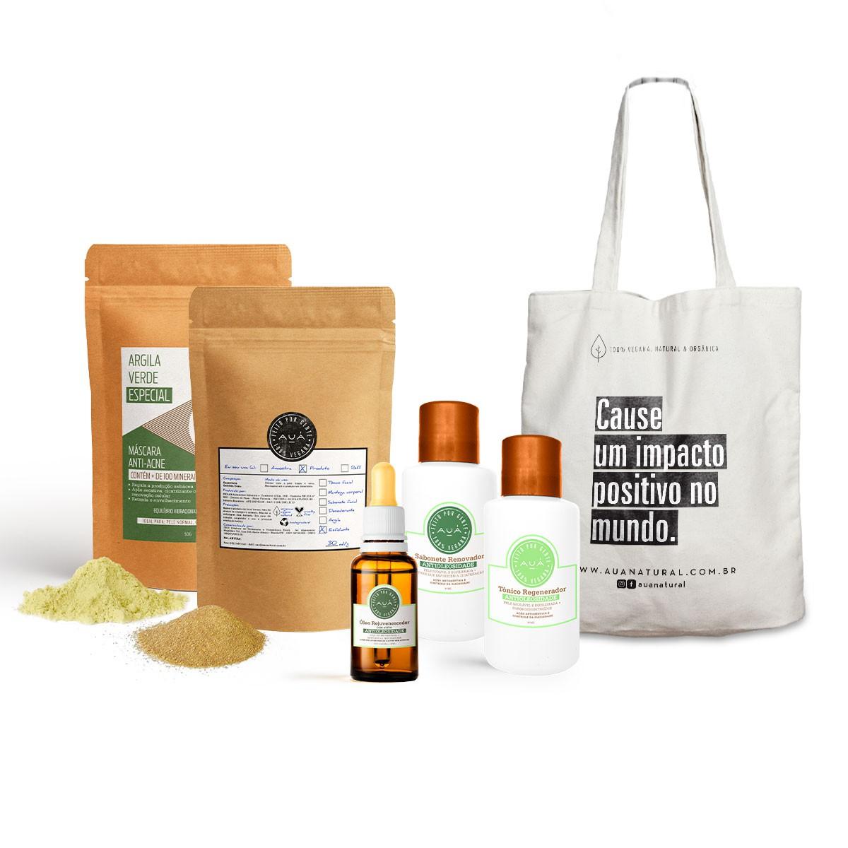 Kit Antioleosidade + Ecobag AUÁ