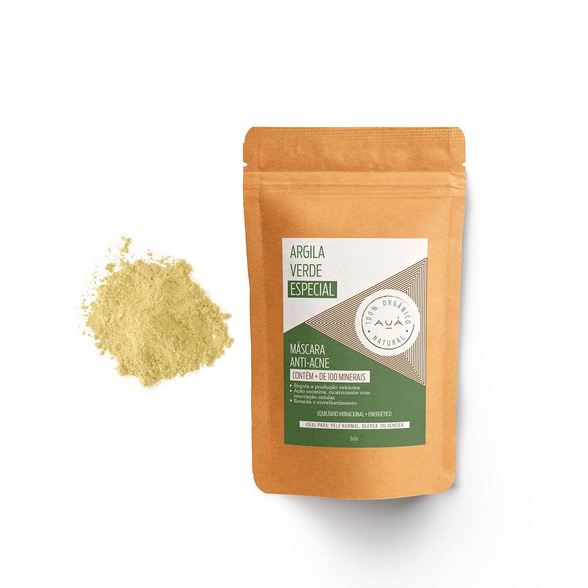 Kit Rejuvenesça + Esfoliante de Carnaúba + Argila Verde