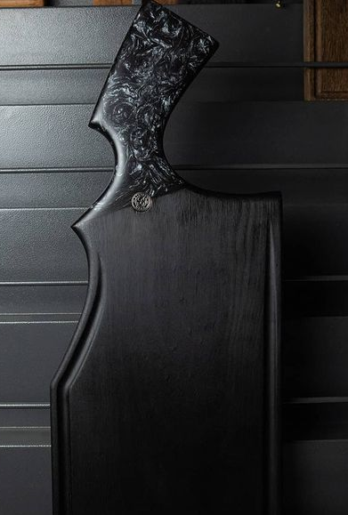 Forty-Four Black - Tábua de Churrasco 60 x 25 cm - Carbonizada