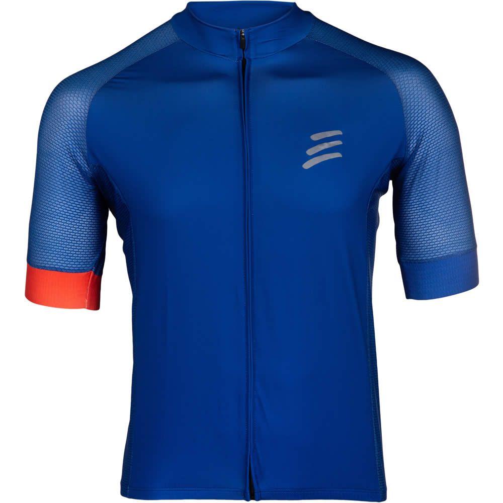 Camisa de Ciclismo Masculino Blue Sky Azul Be Bravo