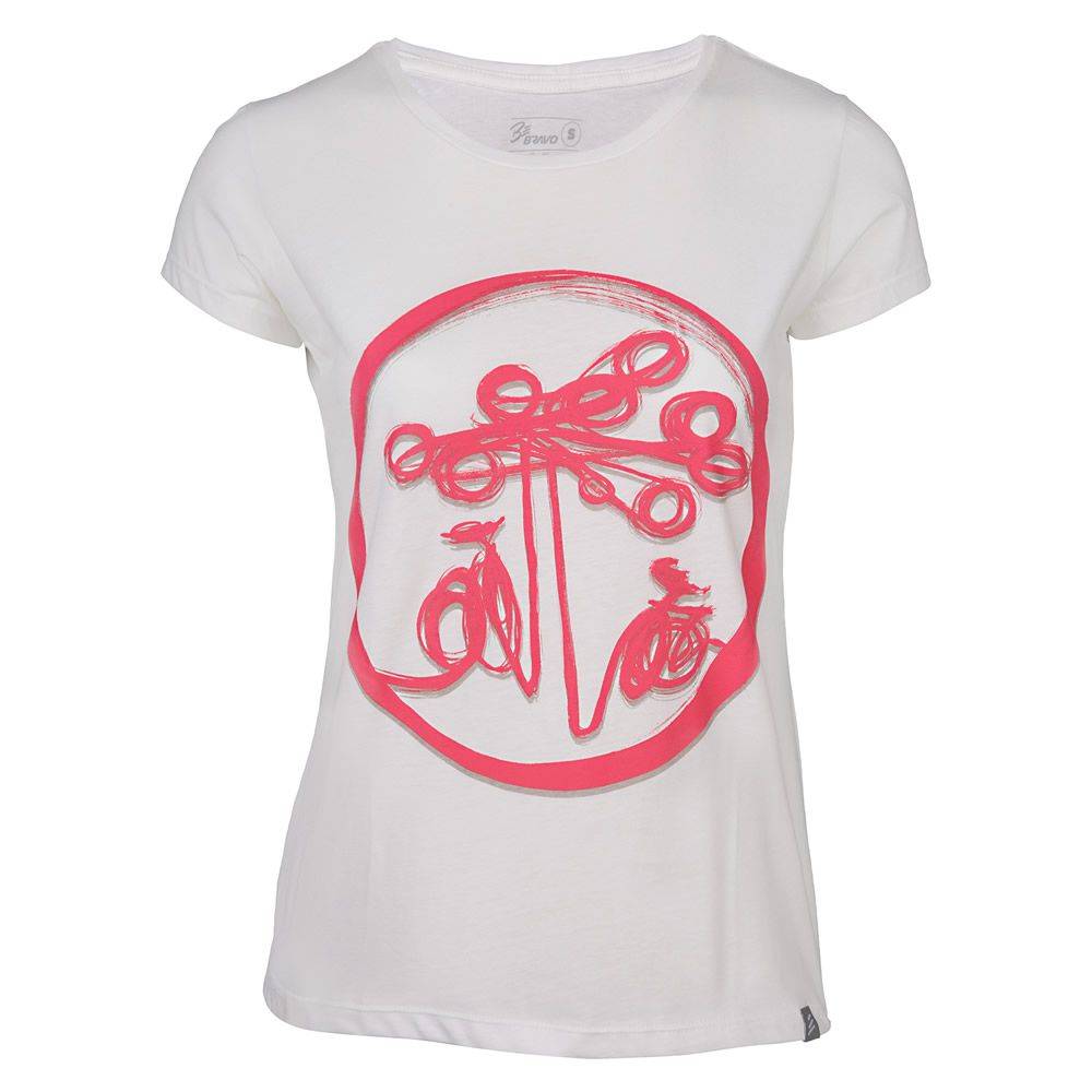 Camiseta Feminina Dani Henning Be Bravo Branca 057