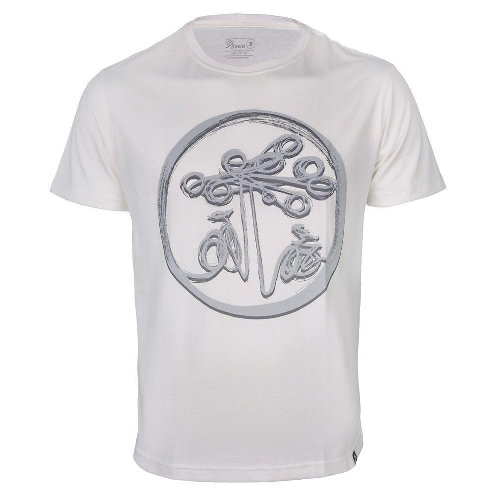 Camiseta Masculina Dani Henning Be Bravo Branca 038