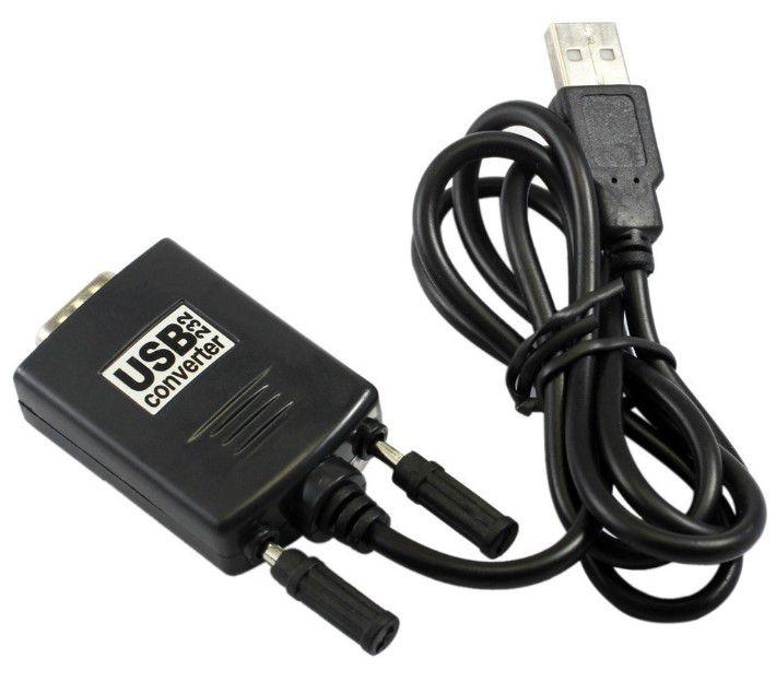 CABO USB P/ SERIAL DB9 MACHO (RS232)