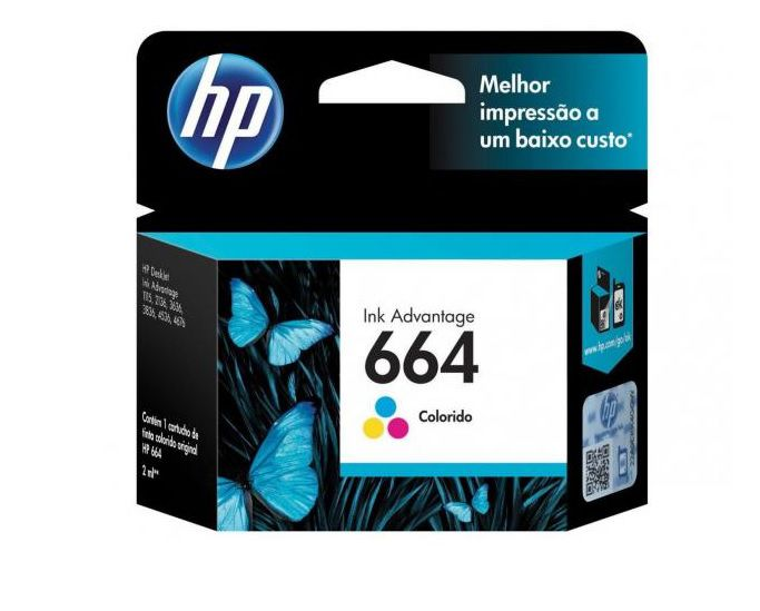 CARTUCHO HP 664 COLOR 2ML