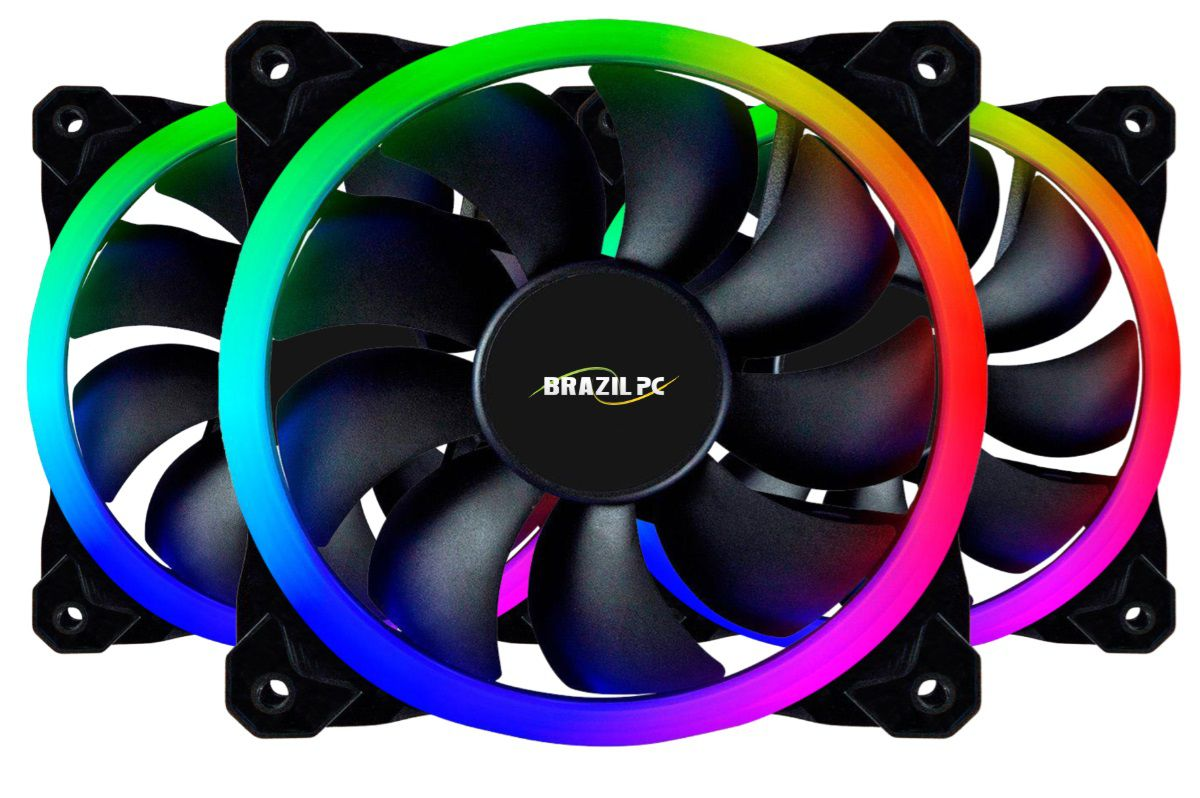 COOLER KIT C/ LEDS RGB 12X12 C/ CONTROLE