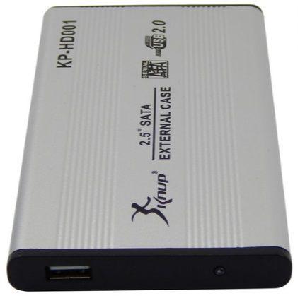 GAVETA EXTERNA P/ HD SATA 2.5 USB