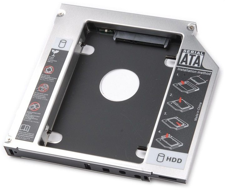 GAVETA INTERNA DVD P/ HD HD SATA 2.5