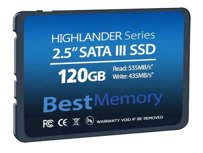 HD SSD 120GB SATA3 BEST MEMORY