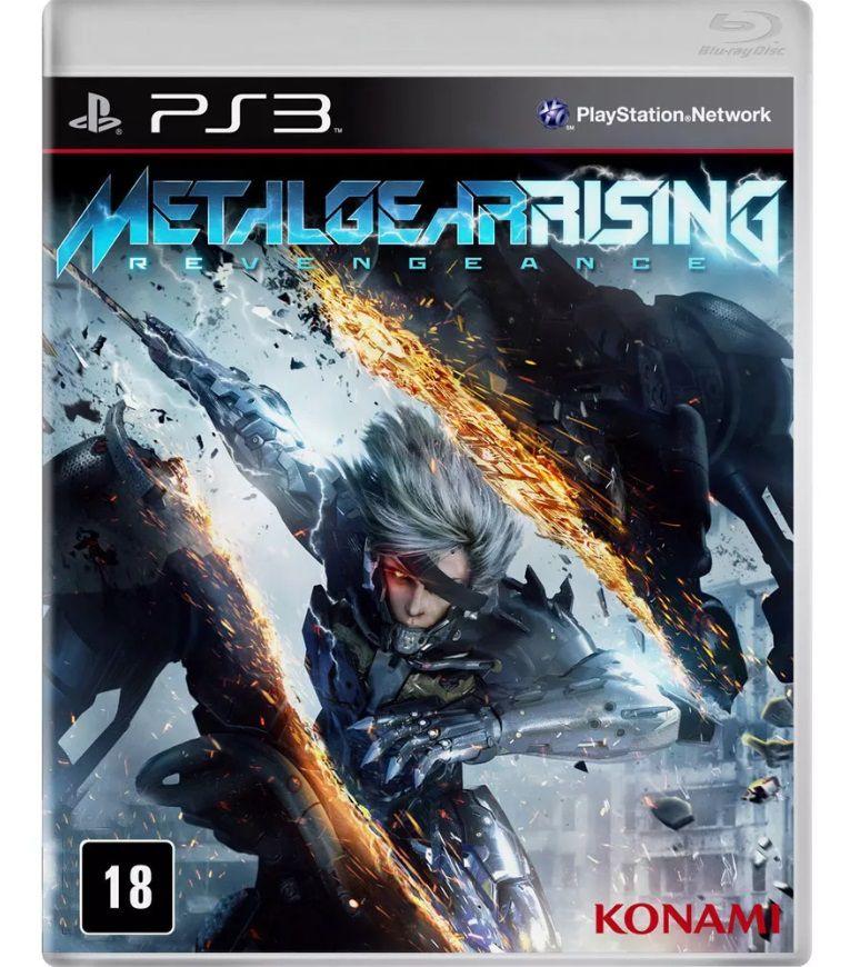 JOGO PS3 METAL GEAR RISING