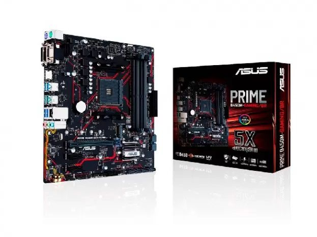 MB AMD AM4 B450M-GAMING PRIME DDR4 MATX