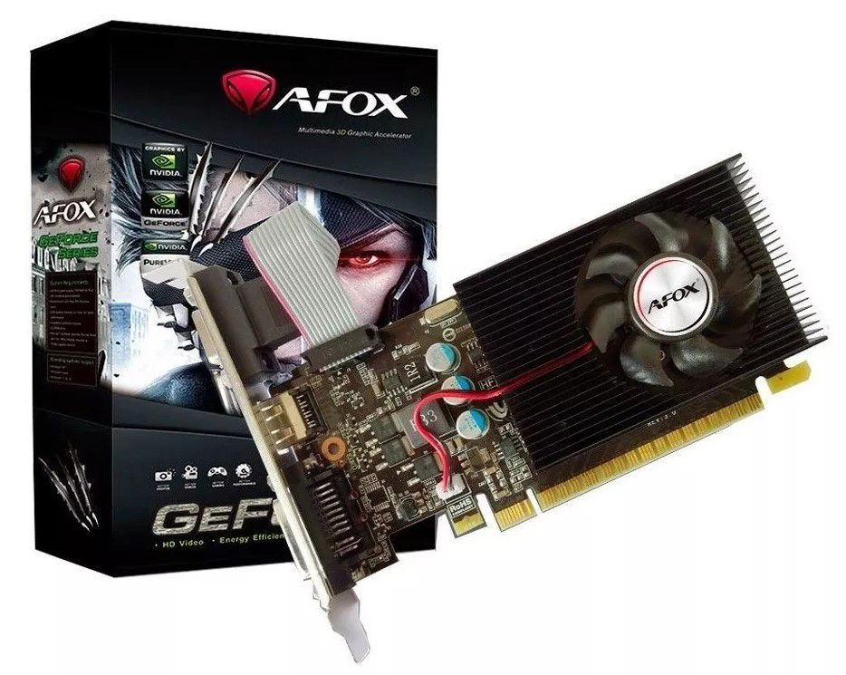 PL. VÍDEO GEFORCE GT730 4GB 128BITS DDR3