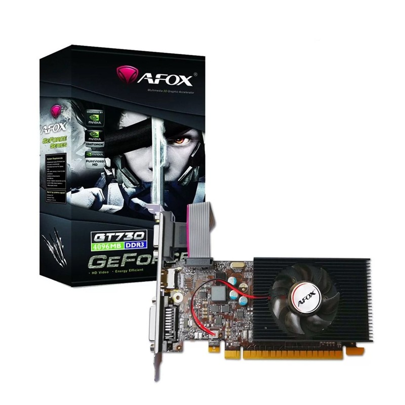 PLACA DE VIDEO GFORCE GT730 2GB DDR3 128BITS