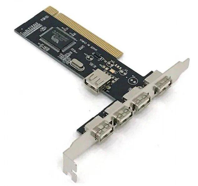 PLACA PCI USB UNIVERSAL (4 USB)