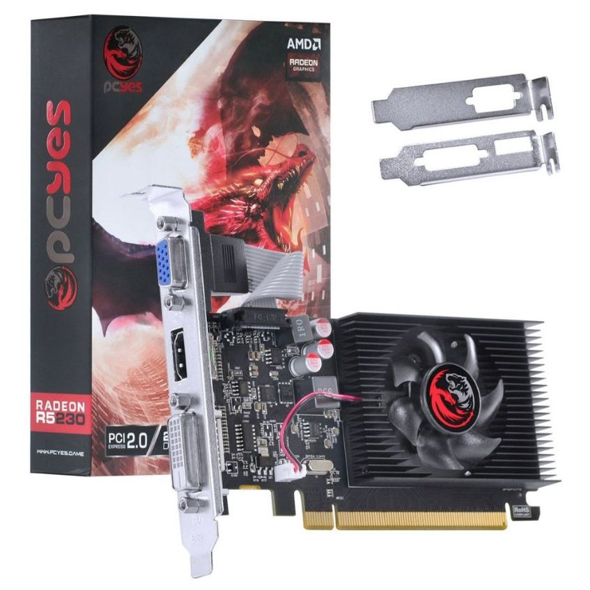 PLACA VIDEO ATI RADEON 2GB R5 230