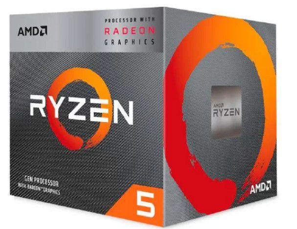 PROC AMD RYZEN 5 3400G 3.7GHZ 6MB AM4
