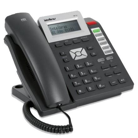 TELEFONE IP TIP 200 LITE INTELBRAS