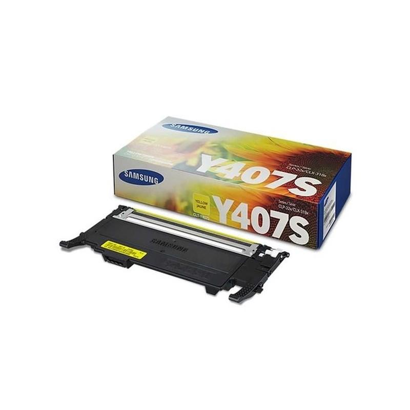 Toner Samsung CLT-Y407S/XAZ - Amarelo