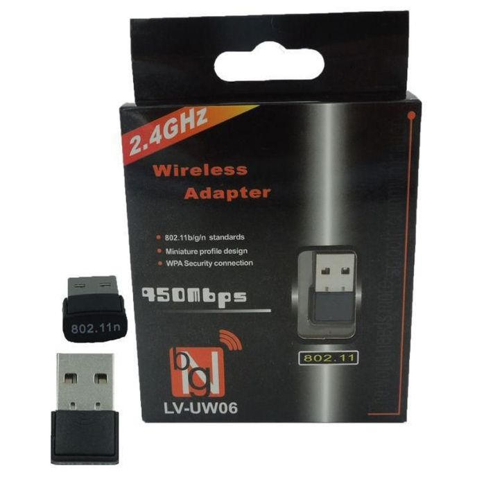 WIRELESS ADAPTADOR USB 150MBPS NANO IPT