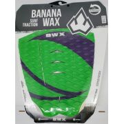 Deck Banana Wax Surf Traction Verde e Roxo