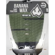Deck Banana Wax Surf Traction Verde Musgo