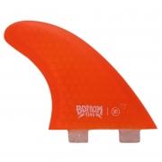 Quilha Bottom Fins BTT FCS I Medium (laranja)