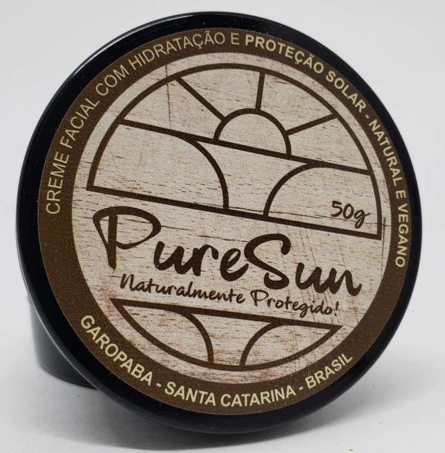 Creme Hidratante com Proteção Solar Vegano PureSun