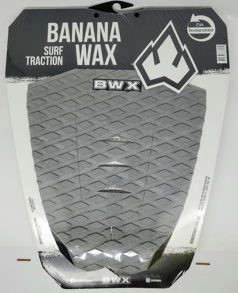 Deck Banana Wax Surf Traction Cinza