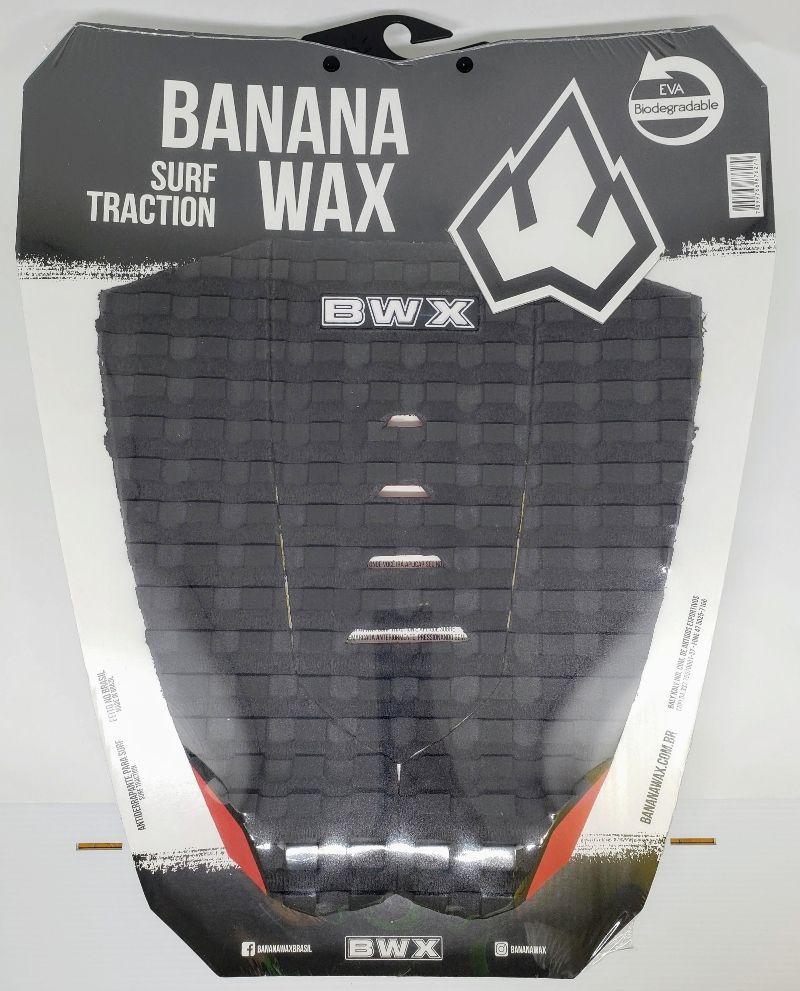 Deck Banana Wax Surf Traction Preto e Vermelho