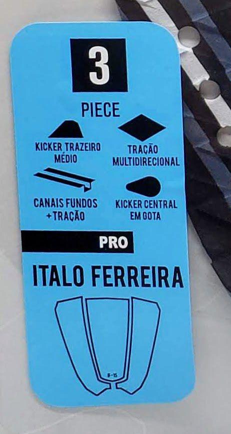 Deck Bullys Italo Ferreira Preto Cinza