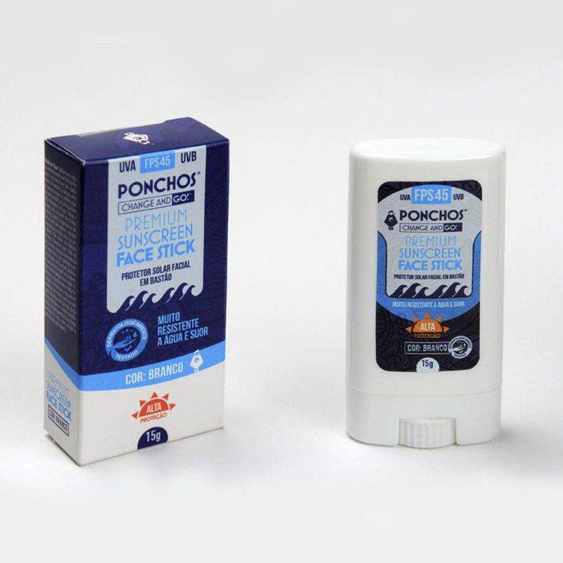 Protetor Solar Ponchos Surf  (Branco Natural)