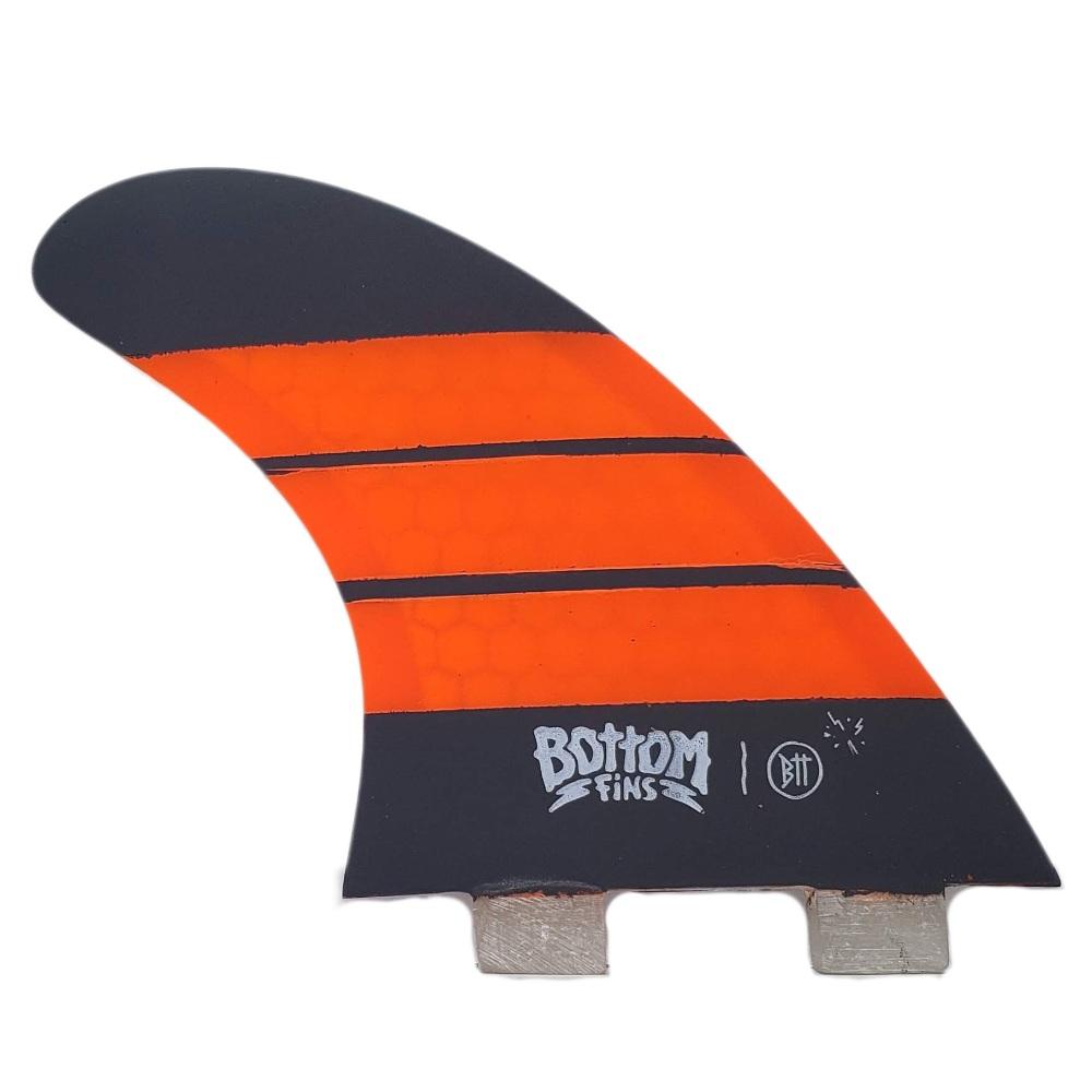 Quilha Bottom Fins BTT FCS I Medium (laranja e cinza)