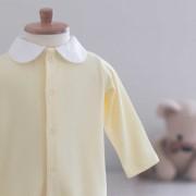 Macacão Play Amarelo - Suedine
