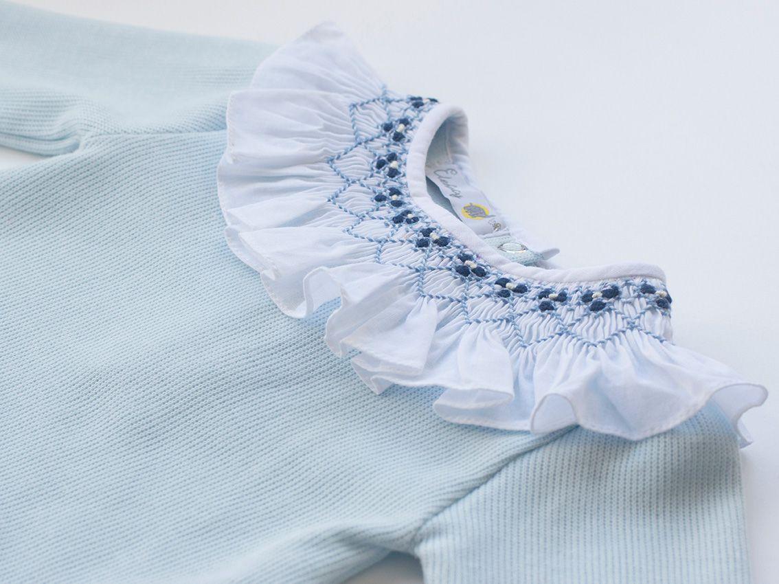 Macacão Casinha Azul