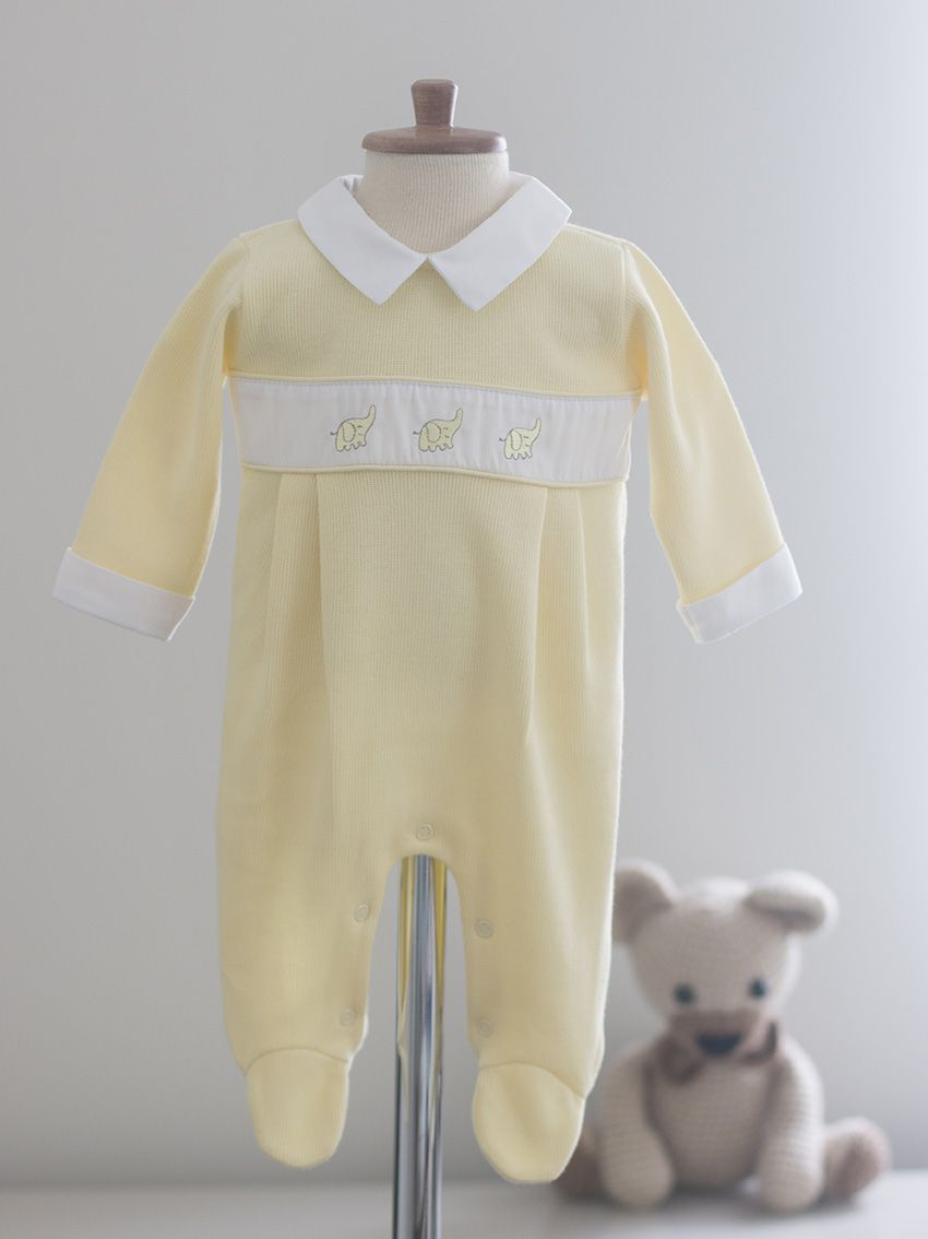 Macacão Elefancy Amarelo