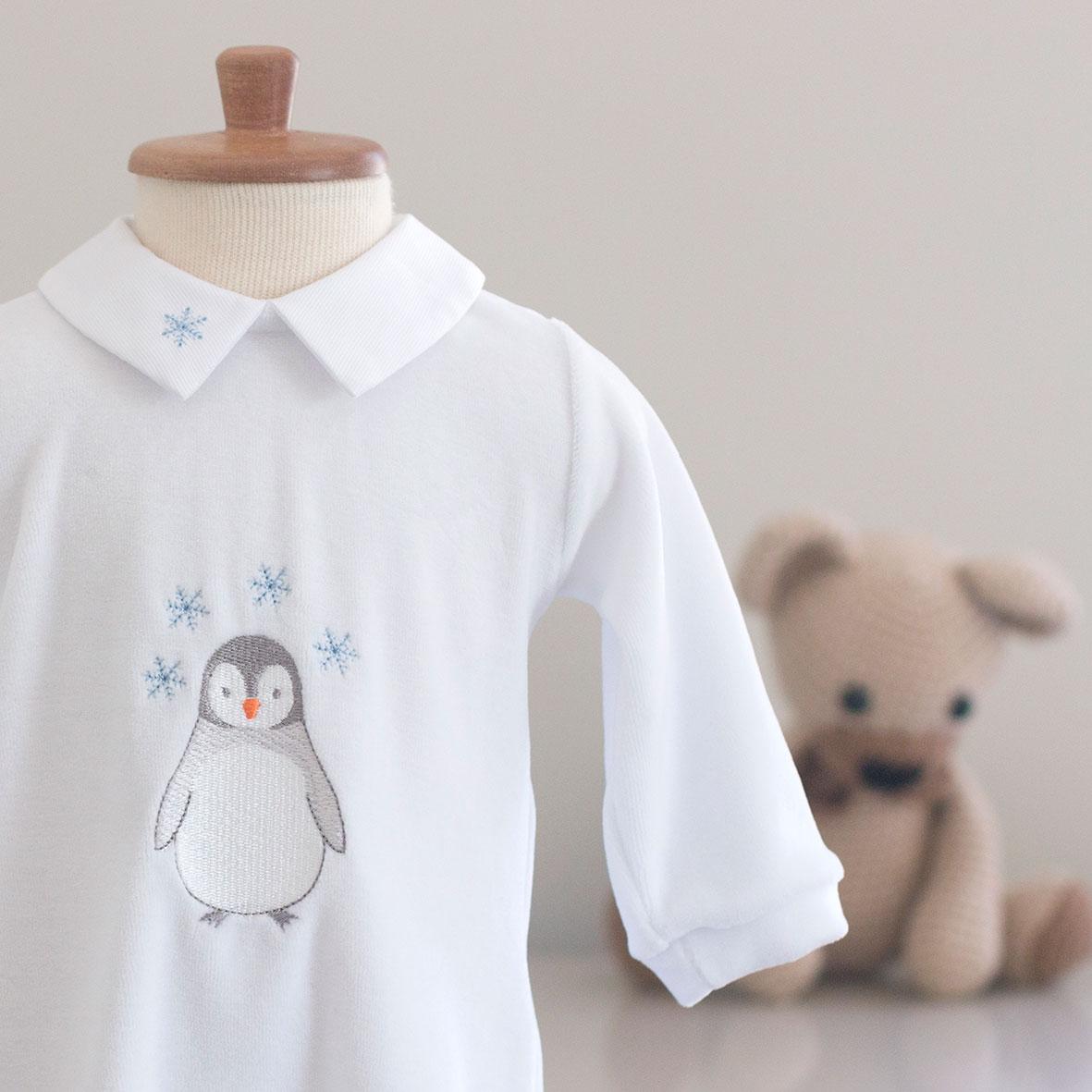Macacão Pinguim - Plush