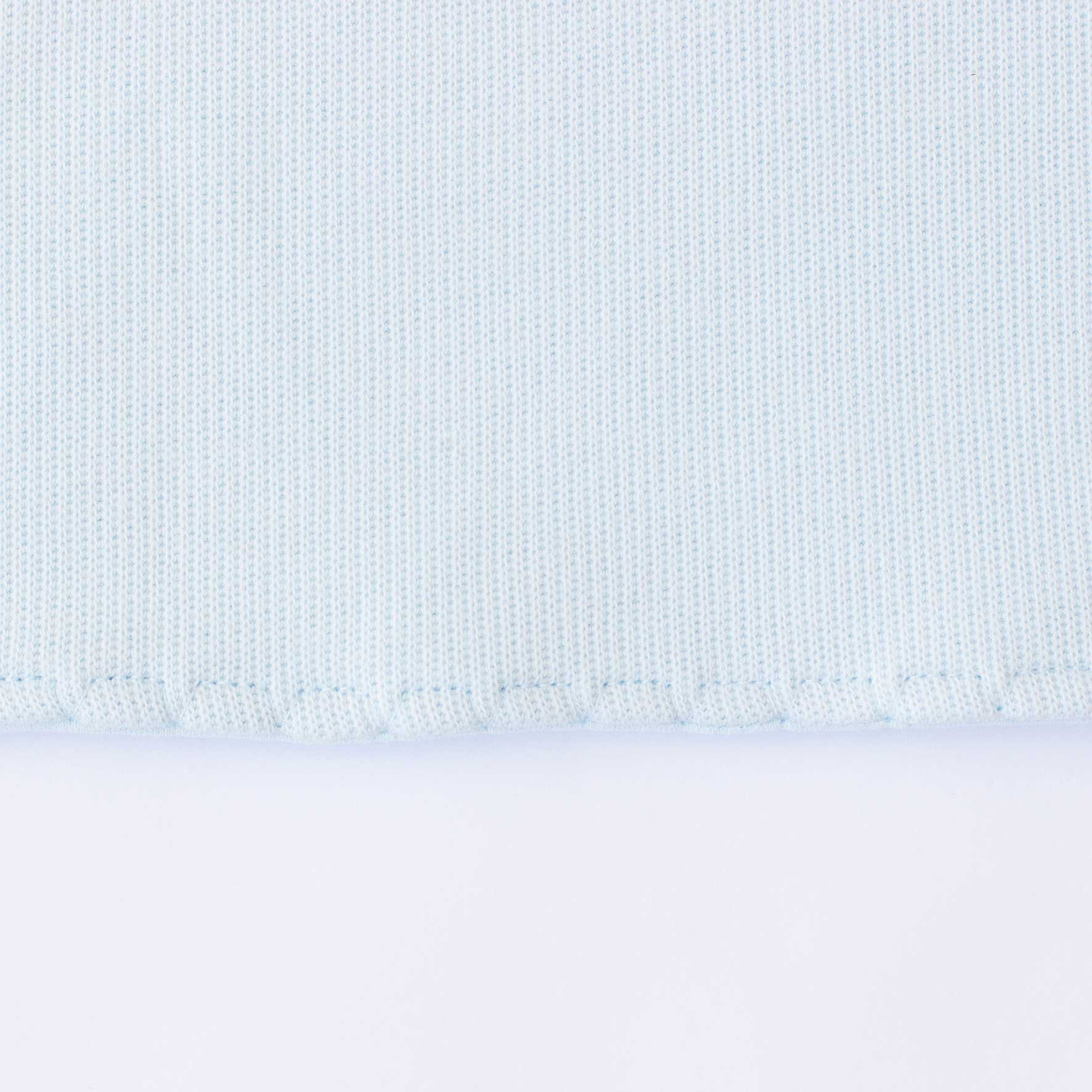 Manta Petit - Tricotil Azul Claro