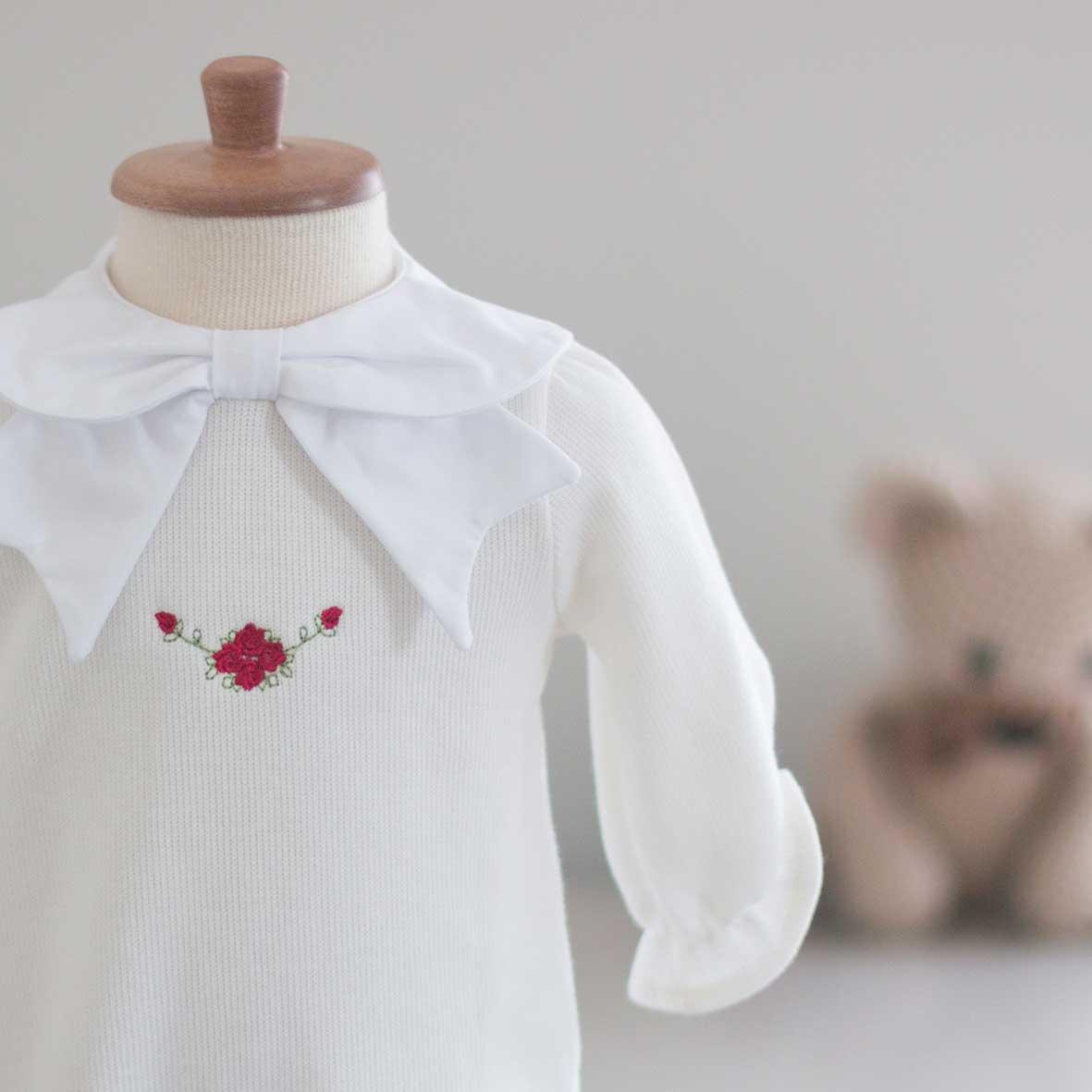 Saída Maternidade Chloé Off White - Tricotil