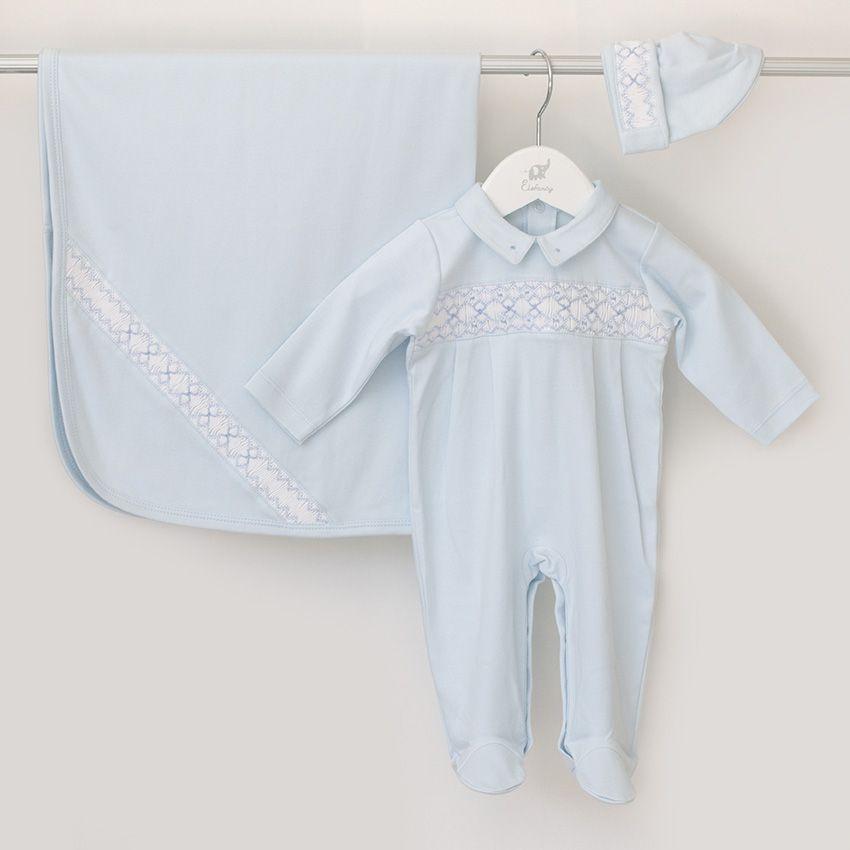 Saída Maternidade Céu - Algodão Pima