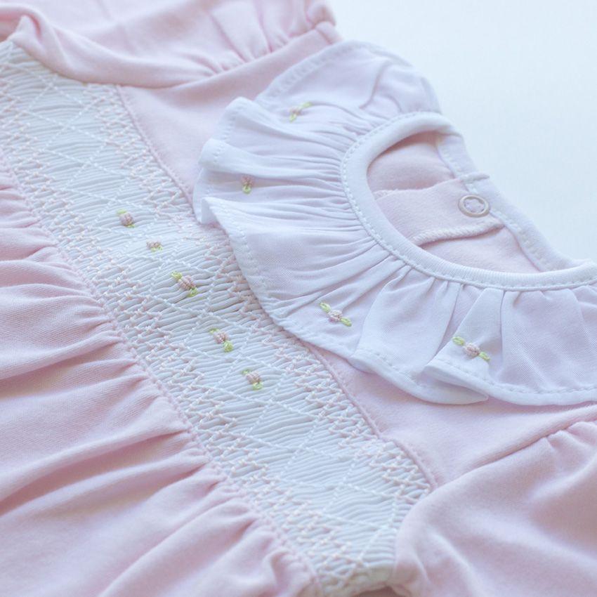 Saída Maternidade Carinho Rosa- Algodão Pima