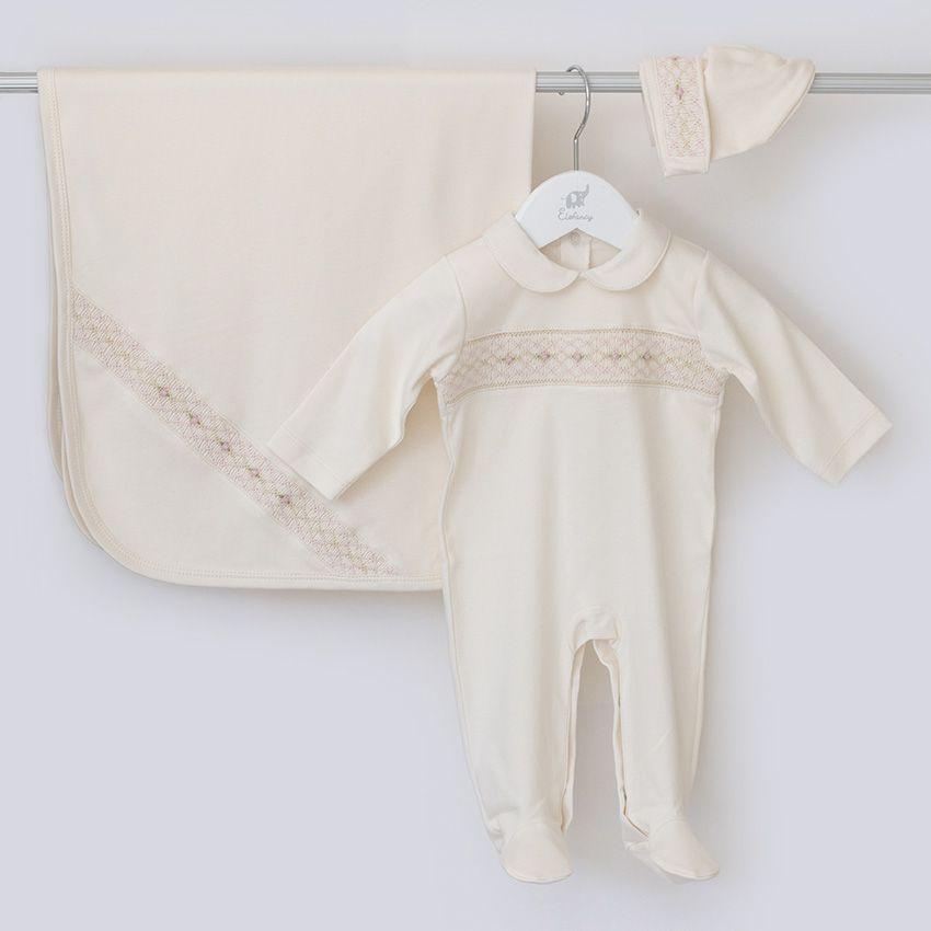Saída Maternidade Delicada - Algodão Pima